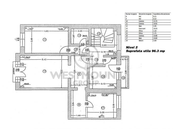 Apartament 5 camere Floreasca 13