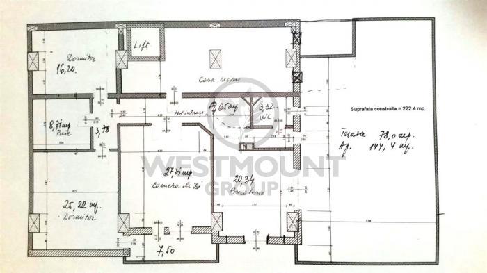 Apartament 3 camere Kiseleff 11