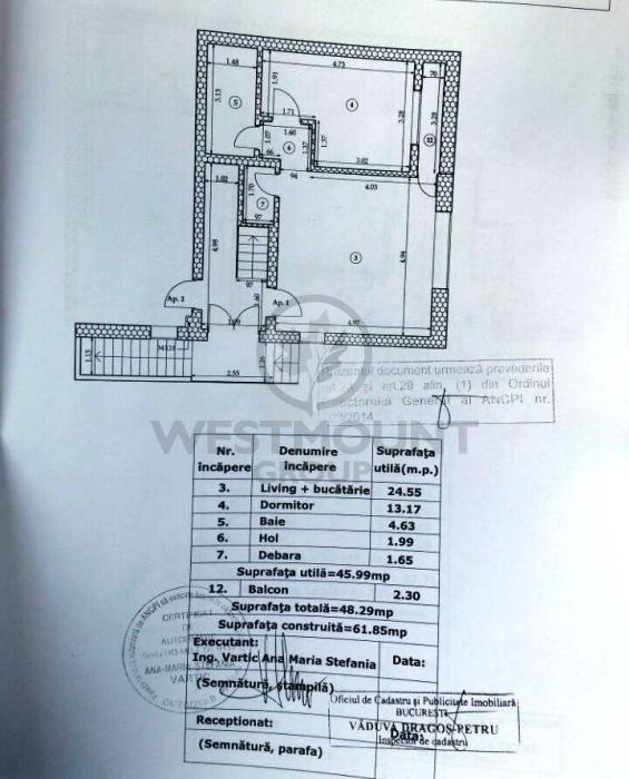 Apartament 2 camere Ion Mihalache (1 Mai) 14