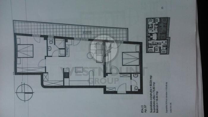Apartament 3 camere P-ta Presei Libere 3