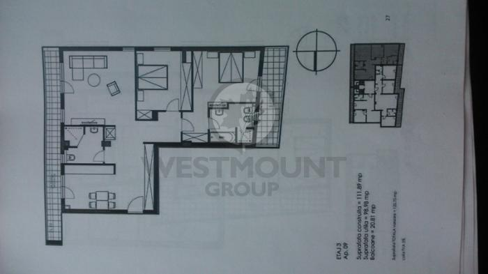 Apartament 3 camere P-ta Presei Libere 2