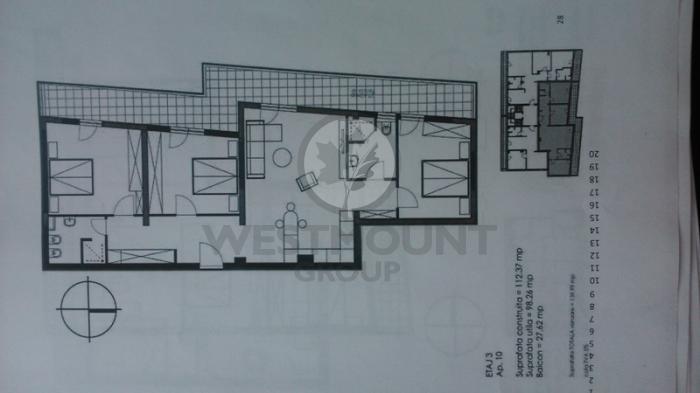 Apartament 4 camere P-ta Presei Libere 2