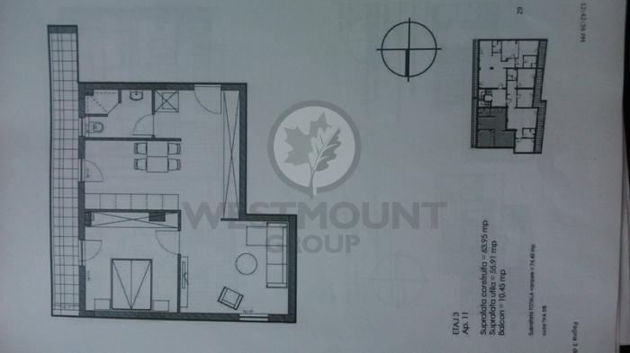 Apartament 2 camere P-ta Presei Libere 4