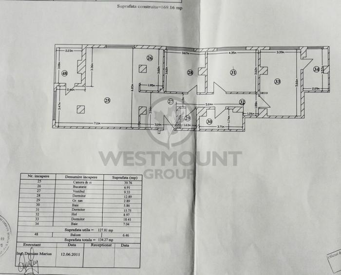 Apartament 4 camere Soseaua Nordului 14
