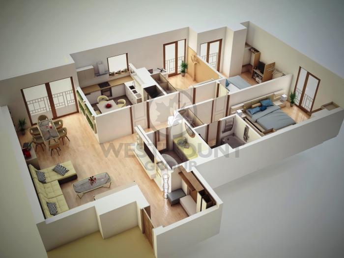 Apartament 4 camere Herastrau 14