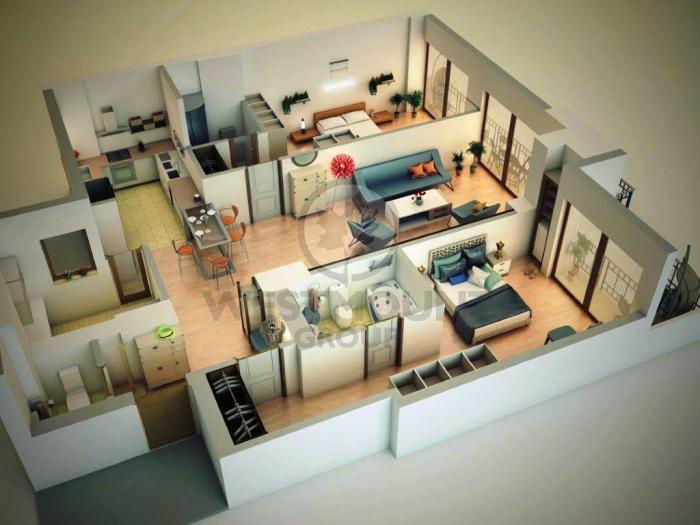 Apartament 3 camere Herastrau 12