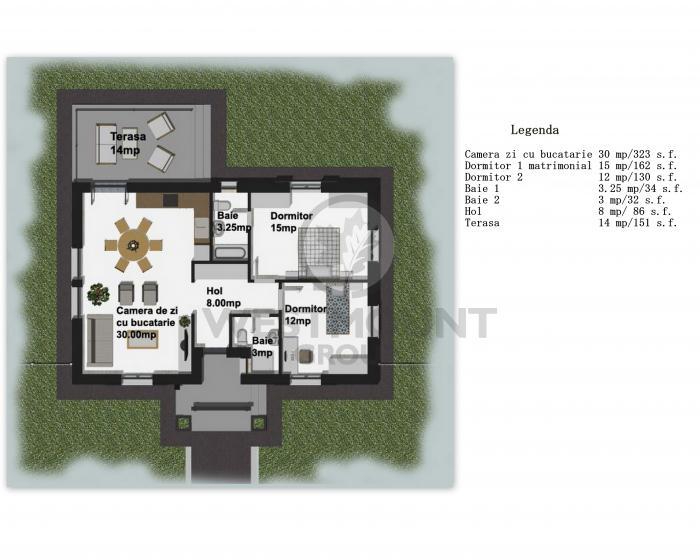 Casa / Vila 3 camere Balotesti 16