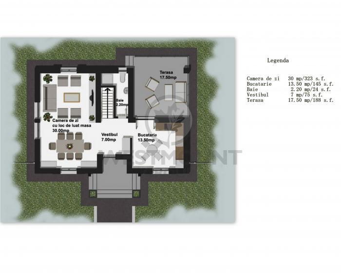 Casa / Vila 4 camere Balotesti 17