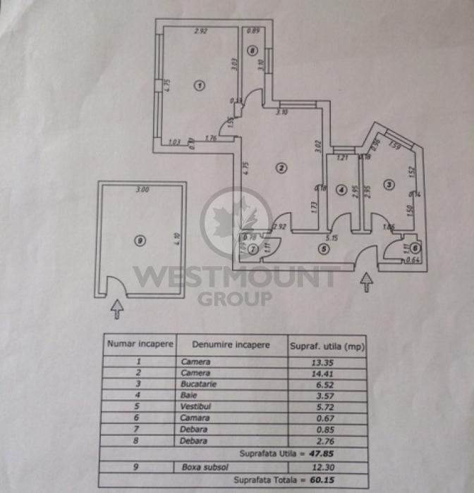 Apartament 2 camere Gara de Nord 4